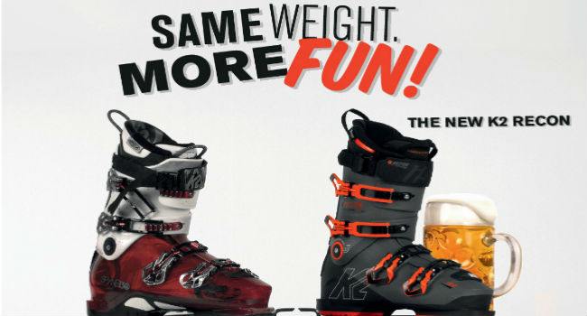 K2 Boots and Beer Tour