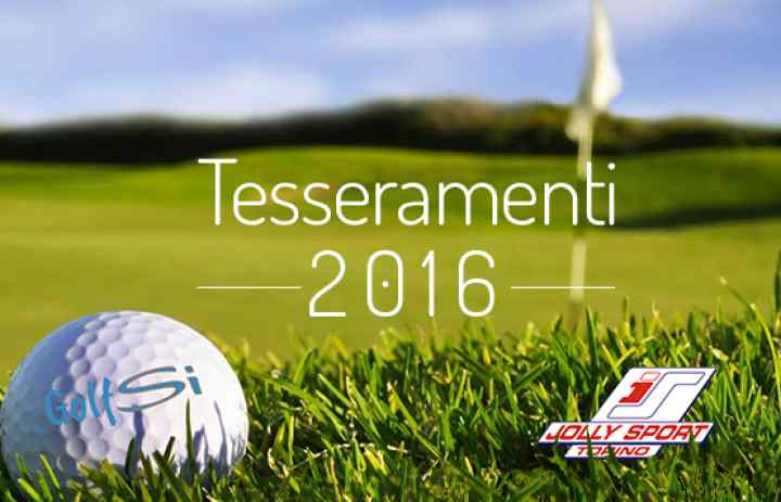 Tesseramenti golf Jolly Sport GolfSi