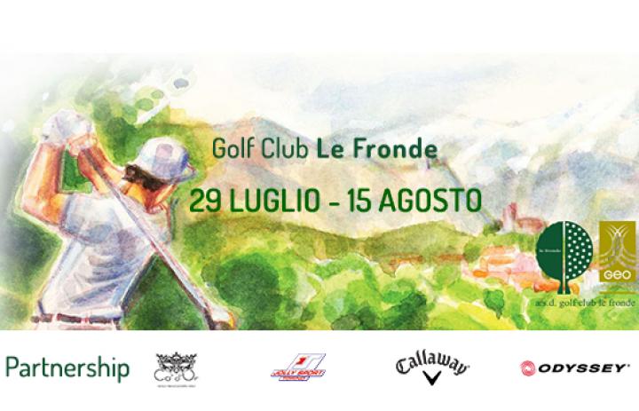 Tour Estivo Golf Le Fronde