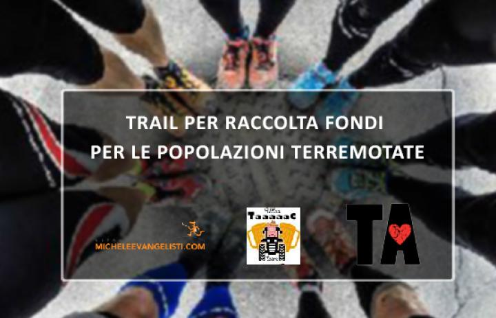 trail benefico raccolta fondi