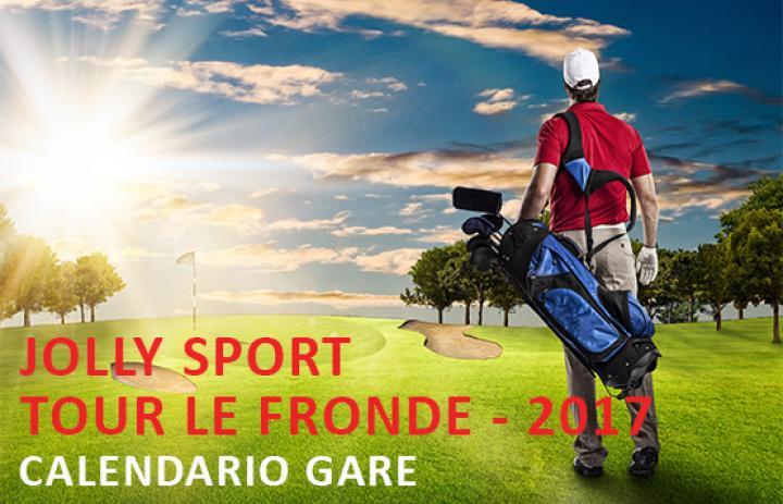 circuito jolly sport calendario gare golf le fronde