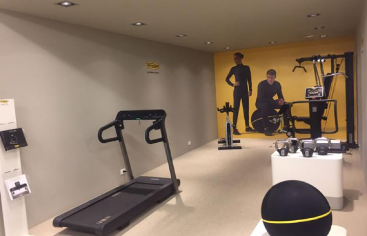 showroom technogym jolly sport 2017