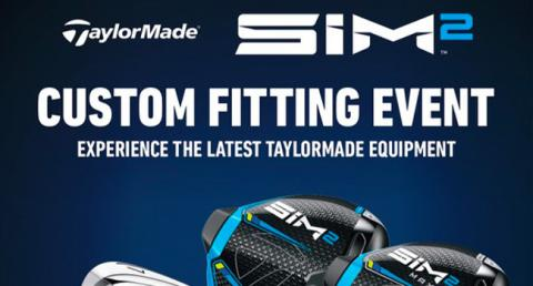 Golf TaylorMade fitting