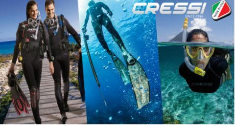 attrezzatura snorkeling Cressi