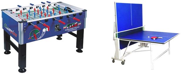 Offerte calcio balilla e tavolo ping pong jolly sport - Misure tavolo da ping pong professionale ...